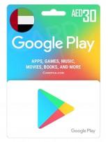 گوگل پلی 30 درهم امارات (AE)