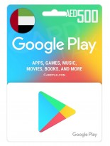 گوگل پلی 500 درهم امارات (AE)