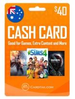 EA Origin Cash Card 40 AUD Australia