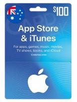 آیتونز 100 دلاری استرالیا (AU)