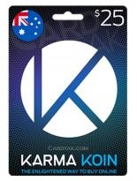 KarmaKoin 25 AUD Australia