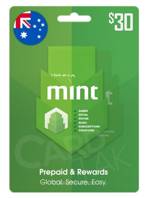گیفت کارت مینت 30 دلاری استرالیا (AU)