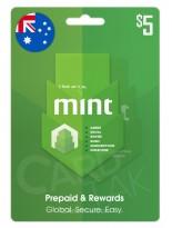 گیفت کارت مینت 5 دلاری استرالیا (AU)