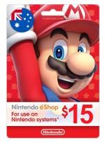 Nintendo 15 AUD Australia