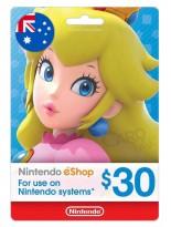 Nintendo 30 AUD Australia