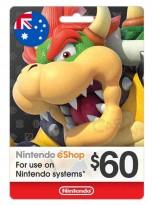 Nintendo 60 AUD Australia