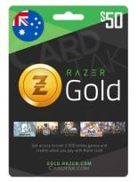 Razer Gold 50 AUD Australia