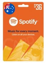 گیفت کارت اسپاتیفای 36 دلاری استرالیا (AU)