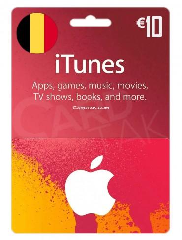 آیتونز 10 یورو بلژیک (BE)