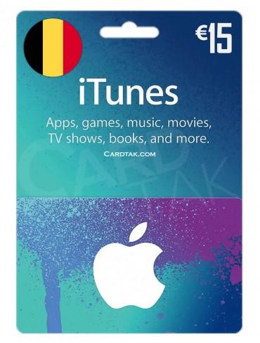 آیتونز 15 یورو بلژیک (BE)