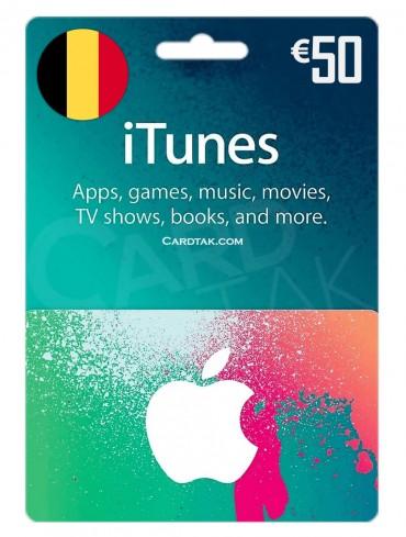 آیتونز 50 یورو بلژیک (BE)