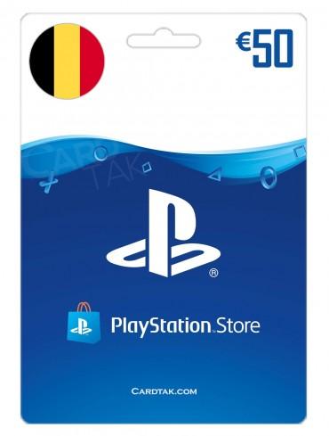 گیفت کارت شبکه پلی استیشن 50 یورو بلژیک (BE)