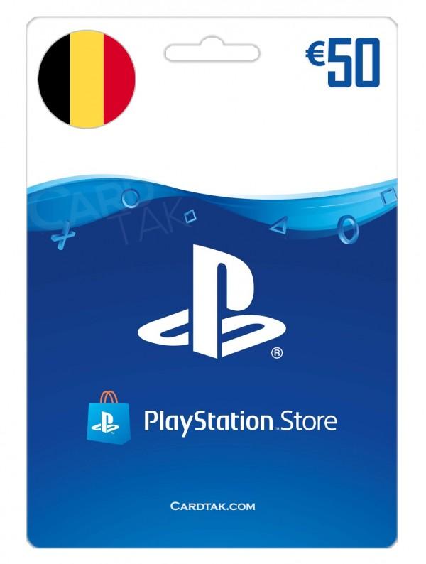 PlayStation 50 EUR Belgium