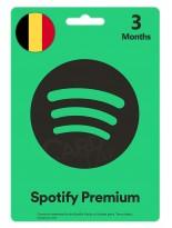 گیفت کارت اسپاتیفای پریمیوم سه ماهه بلژیک (BE)