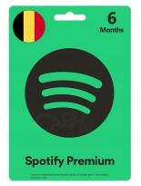گیفت کارت اسپاتیفای پریمیوم شش ماهه بلژیک (BE)