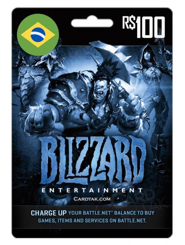 Battle.net 100 BRL Brazil