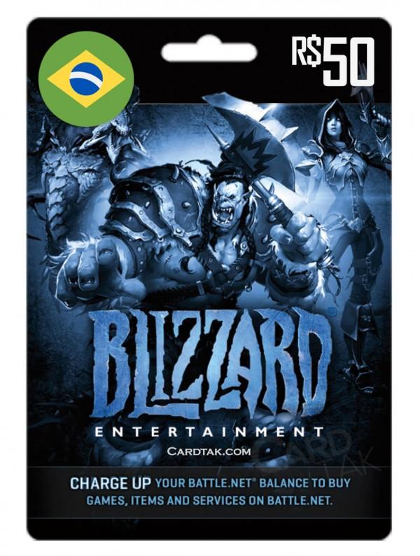 Battle.net 50 BRL Brazil