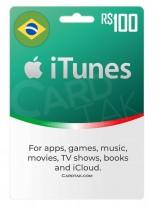 آیتونز 100 رئال برزیل (BR)
