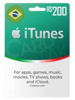آیتونز 200 رئال برزیل (BR)