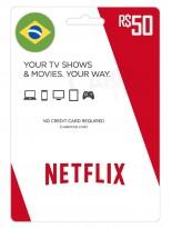 نتفلیکس 50 رئال برزیل (BR)