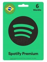 گیفت کارت اسپاتیفای پریمیوم شش ماهه برزیل (BR)
