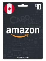 Amazon 10 CAD Canada