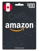 Amazon 100 CAD Canada