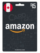 Amazon 15 CAD Canada