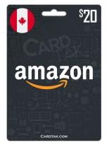 Amazon 20 CAD Canada