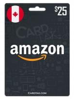 Amazon 25 CAD Canada