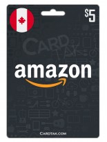 Amazon 5 CAD Canada