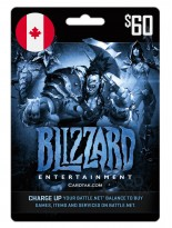 Battle.net 60 CAD Canada