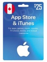 آیتونز 25 دلاری کانادا (CA)