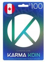 KarmaKoin 100 CAD Canada