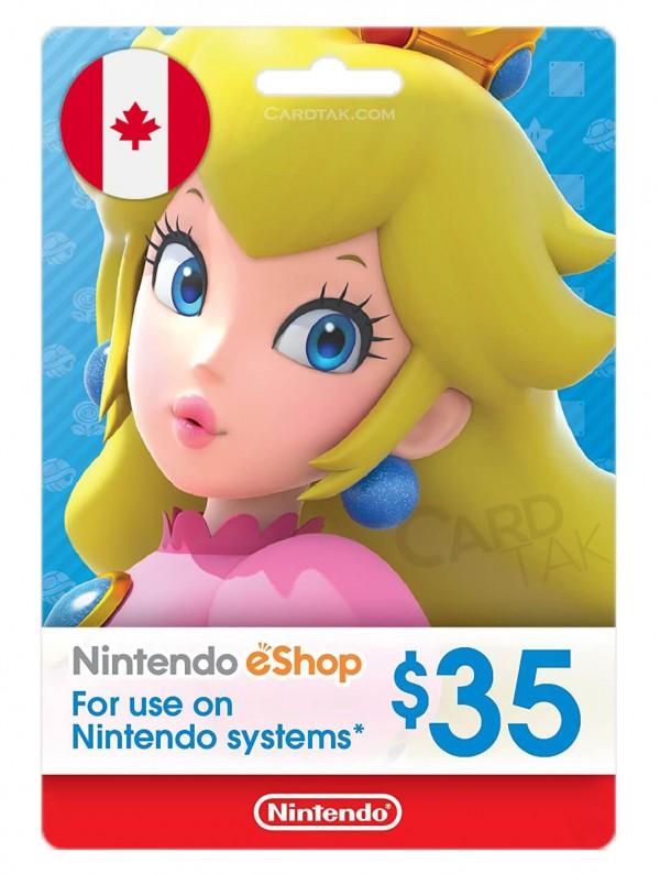 گیفت کارت نینتندو 35 دلاری کانادا (CA)
