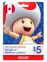 Nintendo 5 CAD Canada