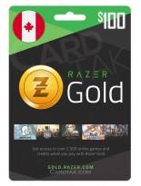 Razer Gold 100 CAD Canada