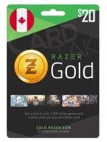 Razer Gold 20 CAD Canada