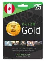 Razer Gold 25 CAD Canada