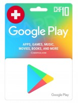 گوگل پلی 10 فرانک سوئیس (CH)