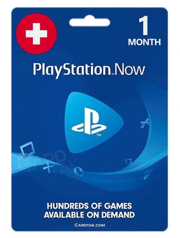 خرید اشتراک 1 ماهه PS NOW سوئیس بهترین قیمت