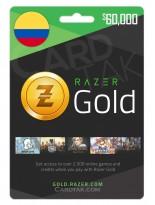 Razer Gold 60000 COP Colombia