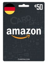 Amazon 50 EUR Germany
