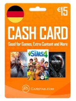 EA Origin Cash Card 15 EUR Germany