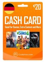 EA Origin Cash Card 20 EUR Germany
