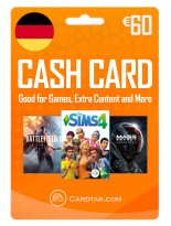 EA Origin Cash Card 60 EUR Germany