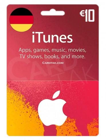 آیتونز 10 یورو آلمان (DE)