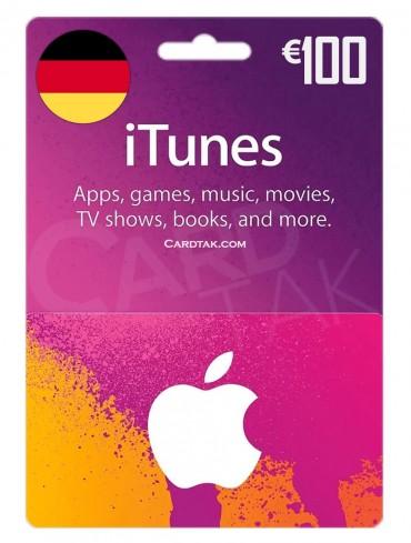 آیتونز 100 یورو آلمان (DE)