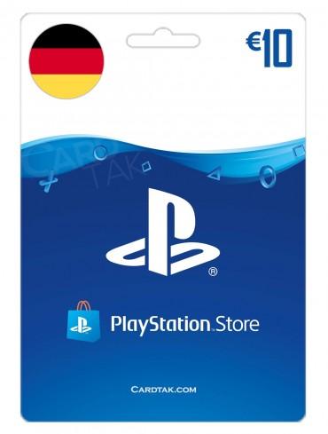 گیفت کارت شبکه پلی استیشن 10 یورو آلمان (DE)