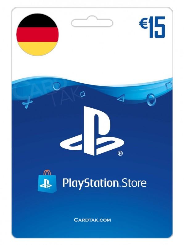PlayStation 15 EUR Germany